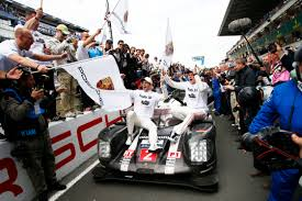 porsche 919 hybrid 2016 2016 le mans no 2 porsche 919 hybrid post race celebration