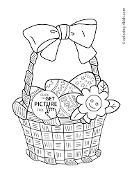 easter eggs coloring pages for kids prinables 18