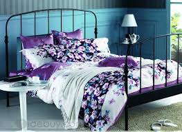Teal And Purple Comforter Sets Rental Bedroom Purple Floral Bedding Sets Mrzdkqql Bed Set Hampedia