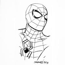 60 drawing spiderman spider mj images