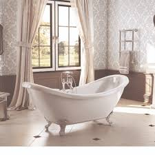 traditional english balmoral double ended slipper bath