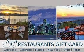 restaurants gift cards gift cards specialty restaurants corporation