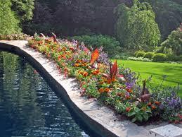 poolside planting beautiful summatime my favorite