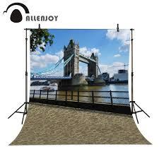 wedding backdrop london allenjoy 6 5ftx10ft photo background london bridge riverside