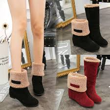 buy winter boots malaysia s boots winter ankle boots black 11street