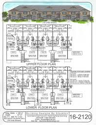 Apartment Complex Floor Plans by 9 Best Rental Property House Plans Images On Pinterest Rental