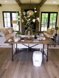 living room console ideas wide seat and sloping back white top