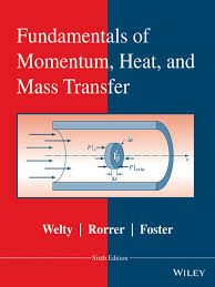 fundamentals of momentum heat and mass transfer sixth edition
