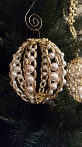 2894 best christmas ornaments beaded images on pinterest