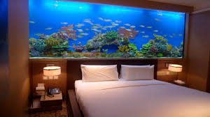 wall design ideas for bedroom aquarium in wall home design ideas pictures remodel design pics