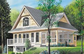 vacation home plans sloping lot vacation home plan 2104dr architectural designs