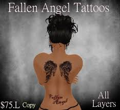 second marketplace fallen tattoos in all top layers