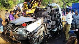 seven youths dead in road accident