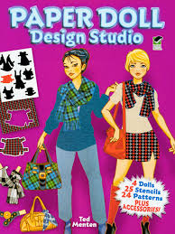 doll design book celebrity scenes fun and games activity book color book with paper