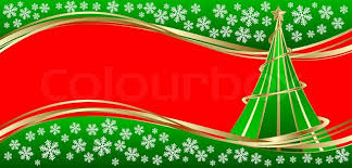 template holiday card merry christmas and happy new year in vector