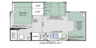 Minnie Winnie Floor Plans by 2017 Thor Four Winds 24f Motorhome C R29018 Reliable Rv In
