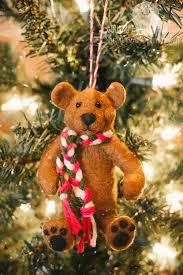 Teddy Bear Christmas Tree Ornaments by Teddy Bear Christmas Ornament Gourmet Fuzzies