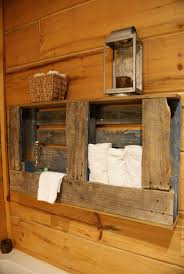Country Rustic Bathroom Ideas by 64 Best Bathrooms Decora Baños Con Pallets Images On Pinterest