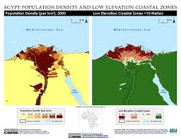 Alexandria On A Map Maps Low Elevation Coastal Zone Lecz Sedac