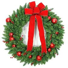 christmas garland battery operated led lights national tree company 36 in battery operated mixed fir artificial