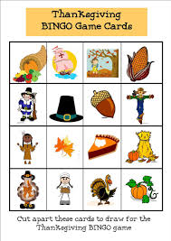 thanksgiving games printable fleur de lemoine thanksgiving bingo