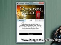 dungeon siege free dungeon siege 3 and keygen free dailymotion