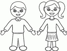 coloring page boy kids drawing and coloring pages marisa