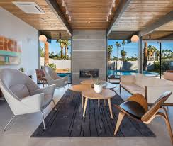house of the week a brand new mid century modern in palm springs
