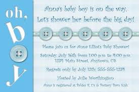 oh boy custom printable baby shower invitation