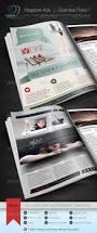 magazine ad business flyer v1 cursive q designs