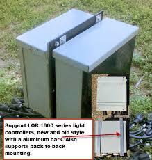 light o rama o rama light controller stand