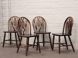 Ercol Dining Chair Ercol Style Elm Dining Chairs Set Of 4 Sold Scaramanga