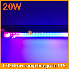 t5 vs led grow lights 20w t5 led integrated grow light