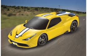 ferrari yellow car ferrari 458 speciale a 1 24 yellow 27mhz jamara shop