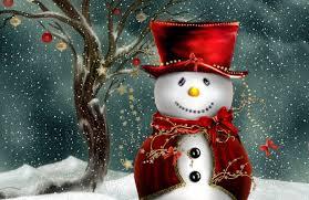 merry hd snowman wallpaper hd wallpapers