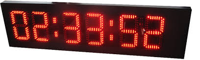 large sports clocks sided led clocklarge led countdown