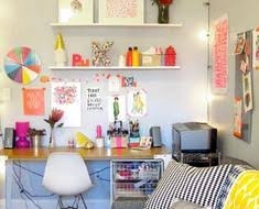 bureau coloré comment créer le bureau parfait pour travailler à la maison