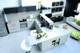plan central cuisine bar ilot central beautiful plan de cuisine avec ilot 5 ilot de