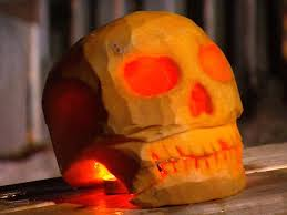halloween pumpkin carving skull jack o u0027 lantern how tos diy