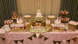 pink and gold cake table decor custom pastry dessert tables honey s cakes