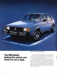 1981 volkswagen rabbit truck thesamba com vw archives 1981 vw rabbit brochure