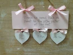 Baby Plaques Personalized 43 Best Personalised Christening Baby Gifts Handmade Wooden Signs