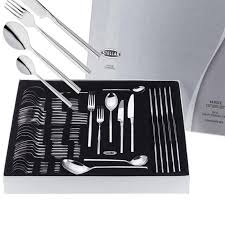 stellar kitchen knives stellar rochester 44 cutlery set polished charlies direct
