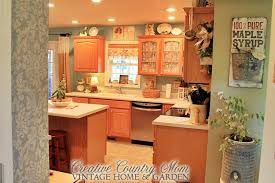 Vintage Cottage Decor by Creative Country Mom Vintage Style Decor New Cottage Kitchen Reveal