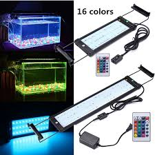 color changing led fish tank lights remote controlled color changing rgb led aquarium lighting fish tank