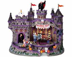 lemax spooky town lemax spooky town party with adaptor 85669