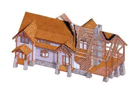 natural element homes precision milled timber frame homes amish