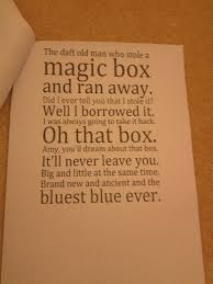 wedding quotes doctor who today in my last history class my called me up to
