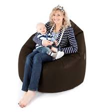 faux leather maternity beanbag chair rucomfy beanbags