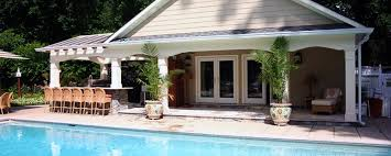 house of pool maryland md custom design pool house installation va